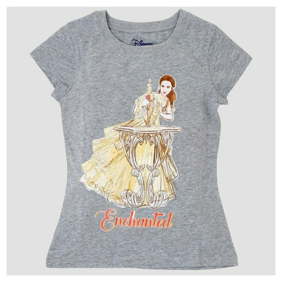 3b92aa8e7 Disney Shirts & Tops | Girls Beauty And The Beast Belle Enchanted ...
